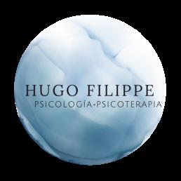 Logo de Hugo Filippe, psicólogo psicoterapeuta y terapia online